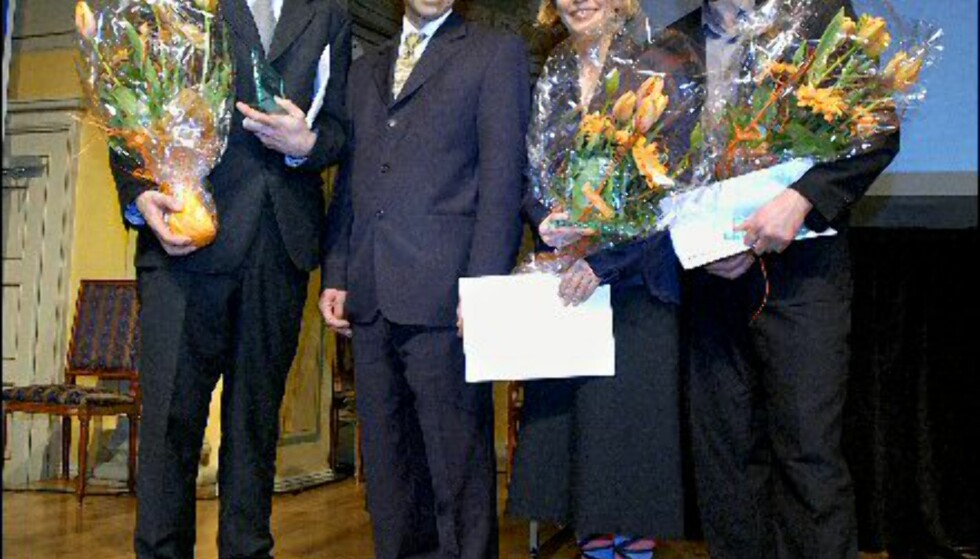 Fra venstre: Vegar Moen, Alex Wilhelmsen, Mette Tronvoll, Kurt Johannessen