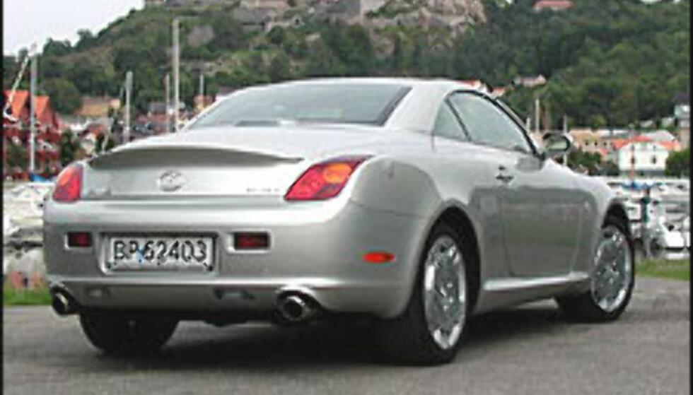 KOMMER: Lexus SC430 vil sannsynligvis bli blant bilene som i fremtiden kan leveres med Toyotas nye avstandsholder.