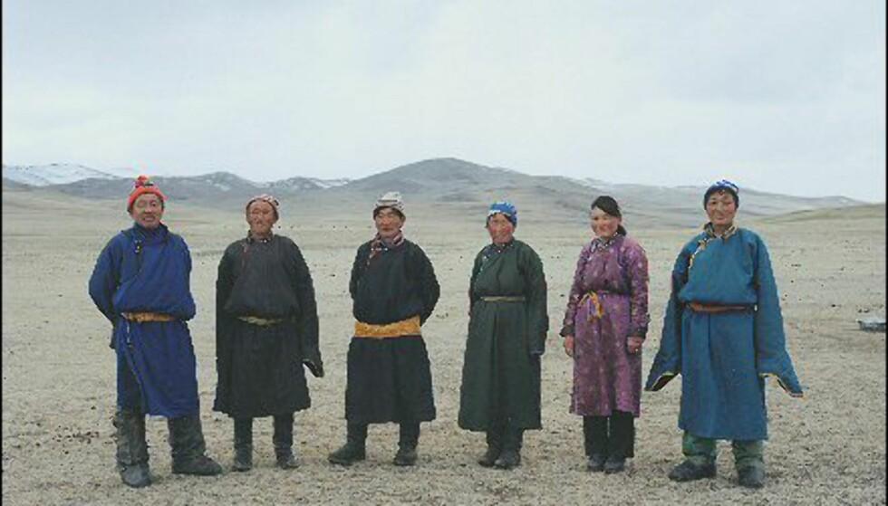Mette Tronvoll: Et av hennes bilder fra Mongolia.