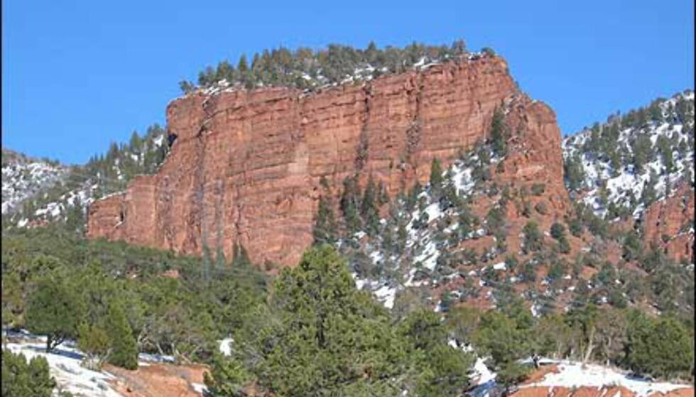 Navnet på staten Colorado, betyr rød farge. Her ser du årsaken.