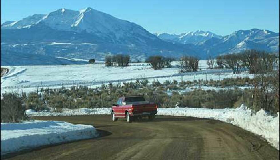 Mer utsyn over Rocky Mountains.