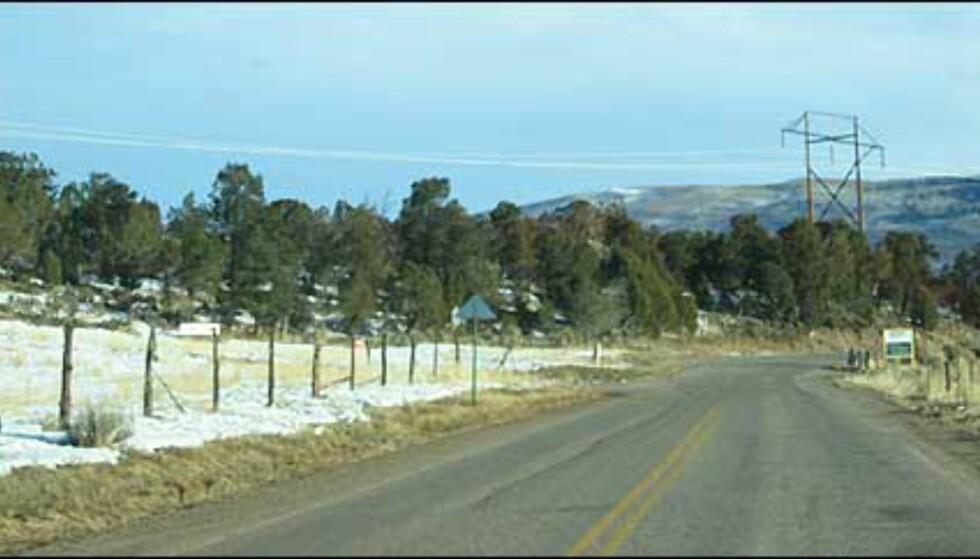 Fire timer må du regne med å bruke på landeveien fra flyplassen i Denver til Aspen og Glenwood Springs.