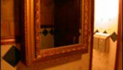 Skummelt speil - stå støtt før du speiler deg på Den Gamle Majors Lab.