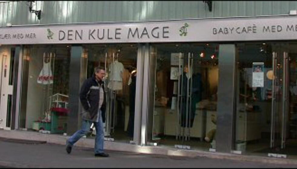 På Den Kule Mage i Markveien kan trendy mødre shoppe klær og drikke kaffe i ammevennlig miljø. Foto: Karoline Brubæk Foto: Karoline Brubæk