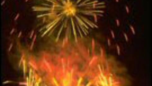 Fyrverkeri hører med på den store dagen. Foto: St. Patrick's Festival/Pat Redmond Foto:  St. Patrick's Festival/Pat Redmond