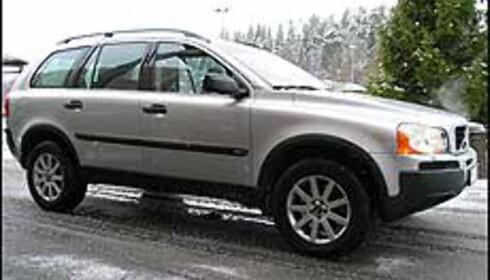 XC90 er en stor og synlig bil.