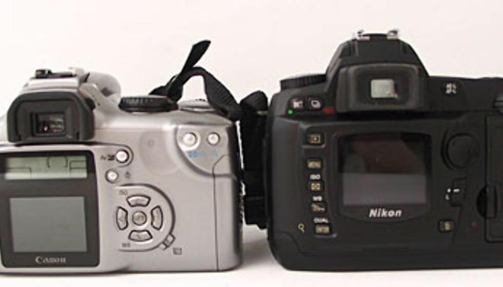 Nikon D70 vs Canon 300d