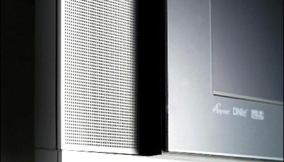 Lekre detaljer på Samsungs 57-tommer.