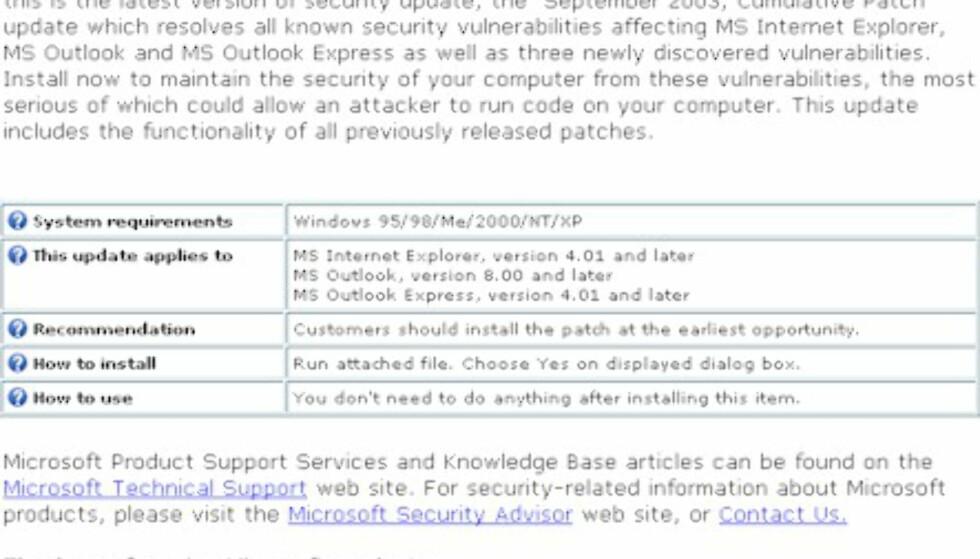 Har du fått falsk epost fra Microsoft?