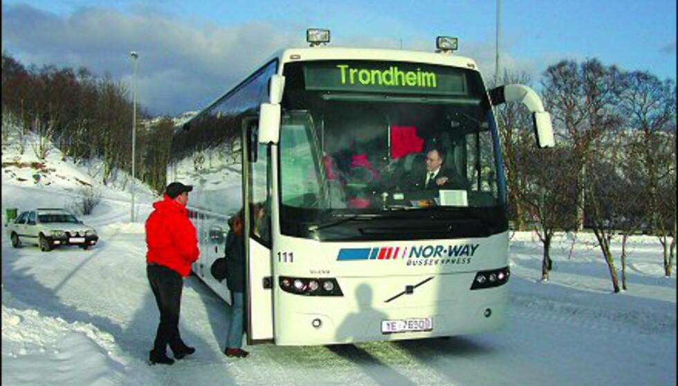 Ekspressbussen Bodø - Trondheim gir et utvidet reisetilbud mellom Midt- og Nord-Norge.