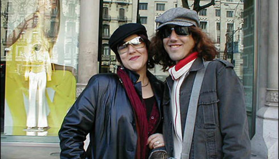 Luer og love, siste mote fra Barcelona. Foto: Inga Holst