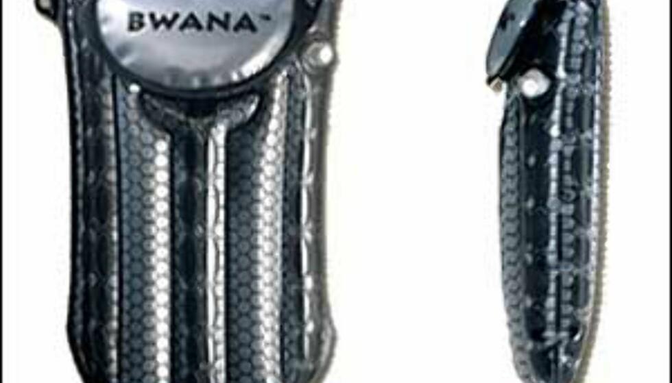 Mange av oss har mistet våre elektroniske hjelpere i vann eller snø. Hadde vi hatt en slik pose til vår mobiltelefon i sommer, hadde vi ikke måttet kjøpe en ny i august ... Foto: Bwana Foto: Bwana