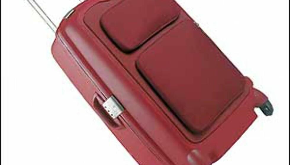 F'lite Comfort fra Samsonite. Friske farger og godt med lommer skal lokke på damene. Foto: Samsonite Foto: Samsonite
