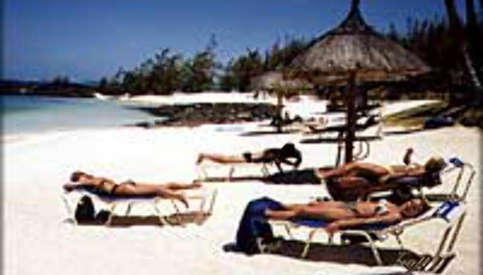 Mauritius er populær for brudepar.