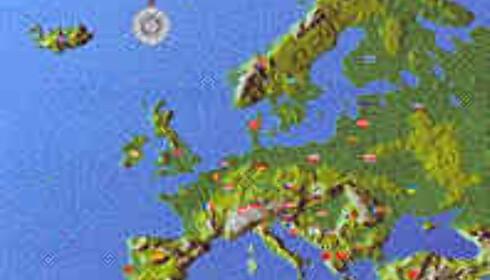 Europa er din praksisplass. Du velger selv hvor reisen skal gå.