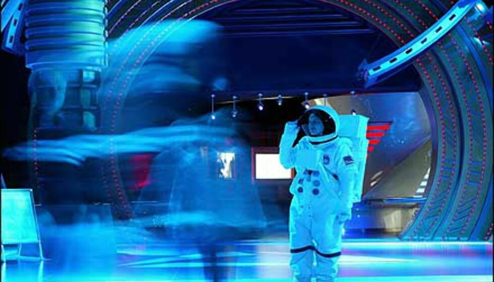 Inne i romcenteret kan du more deg på et område som strekker seg over 22.000 kvadratmeters gulvflate. Foto: Space Center Bremen Foto: Space Center Bremen
