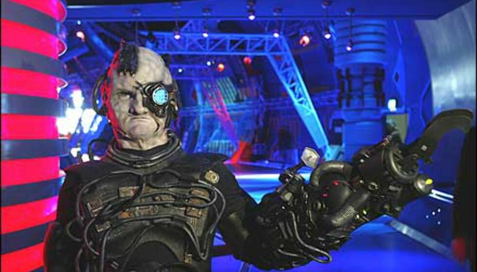 En cyborg. Foto: Space Center Bremen Foto: Space Center Bremen