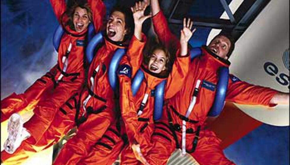 Spaceshot - rakettoppskyting. Foto: Space Center Bremen Foto: Space Center Bremen
