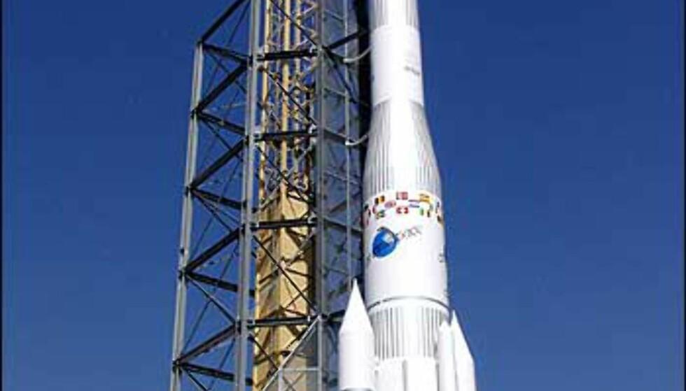 Ariane 4. Foto: Space Center Bremen Foto: Space Center Bremen