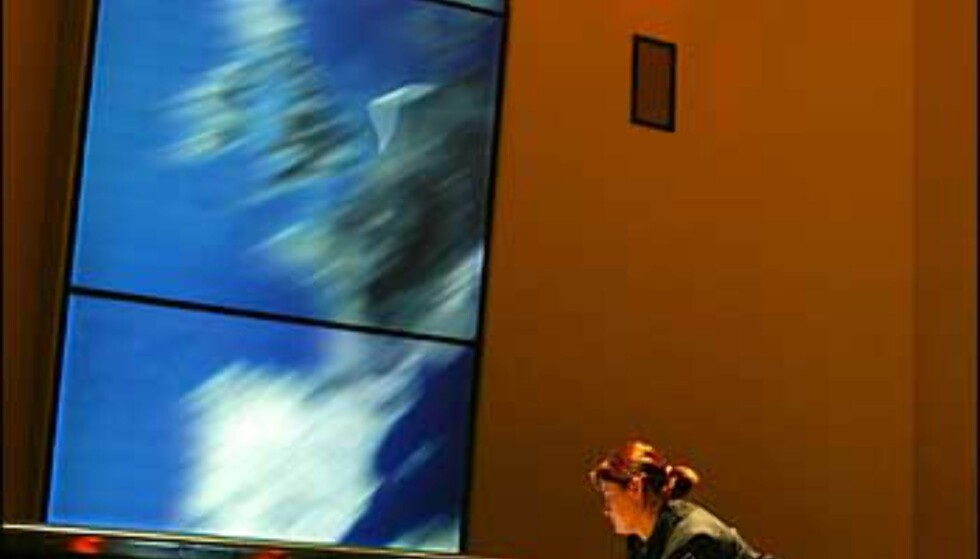 Mission Control på romsenteret. Foto: Space Center Bremen Foto: Space Center Bremen