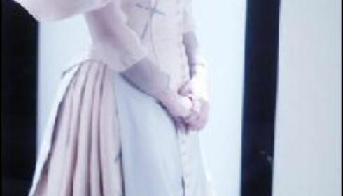 Gisken Armand som Elizabeth 1 i Maria Stuart - på Nationaltheatret i vår.