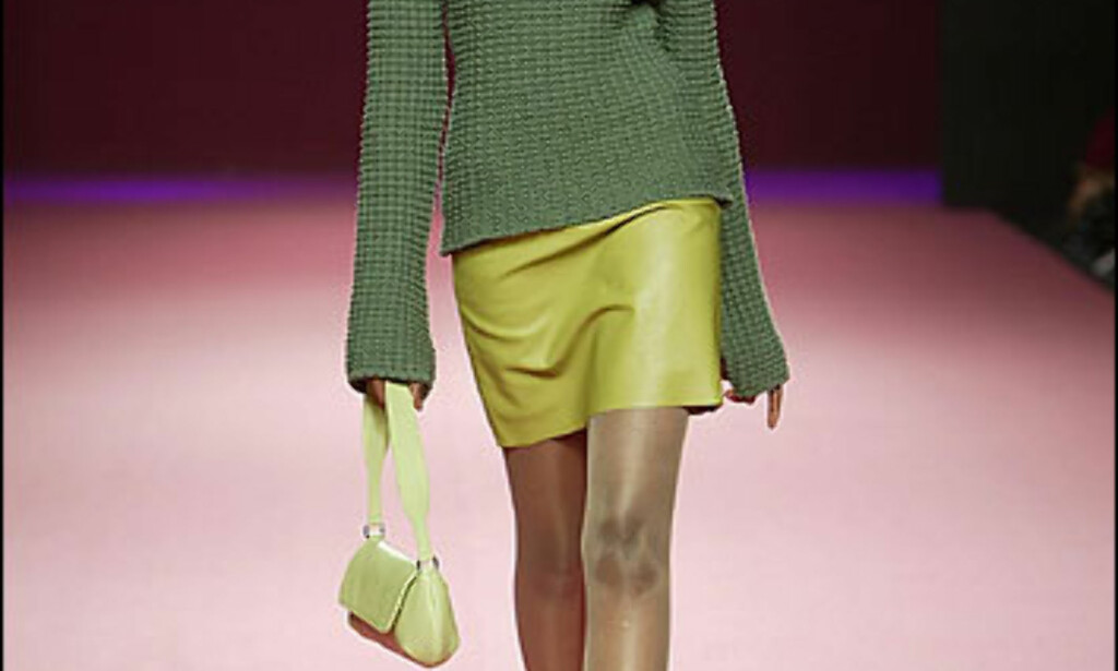 Friskt og grønt for høsten hos Esteve Sita Mur. Foto: Moda-barcelona.com