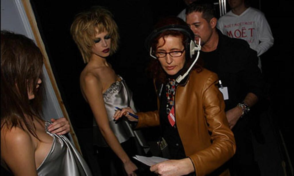 Backstage hos Hannibal Laguna. Foto: Moda-barcelona.com