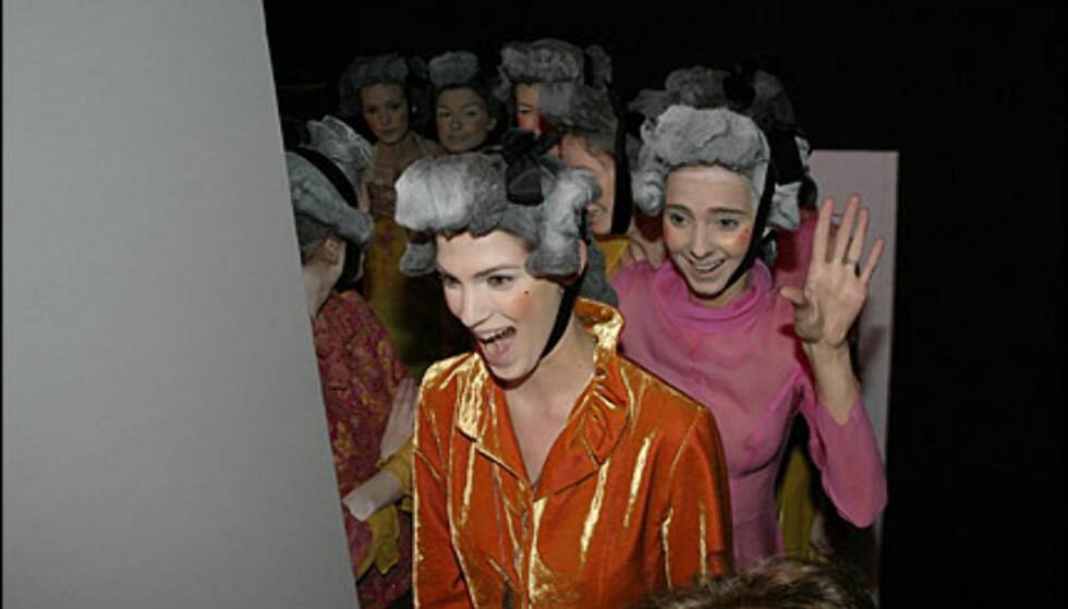 Backstage hos Nuria Mora. Foto: Moda-barcelona.com