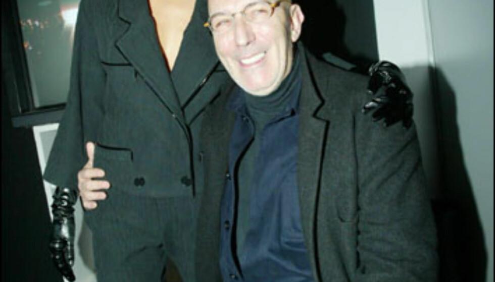 Antonio Miró kjørte lukket show med stjernemodeller. Foto: Moda-barcelona.com