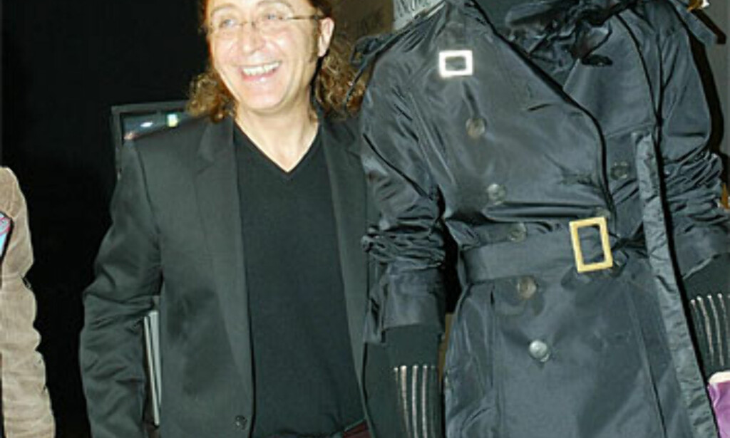 José Luis Medina, halvpart i duoen Victorio & Lucchino sammen med en av de store modelltrekkplasterne, Eva Herzigova. Foto: Moda-barcelona.com