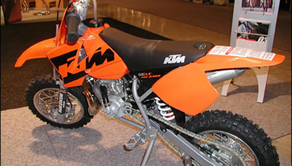 KTM 50 SX Pro Jr, 20.900 kroner