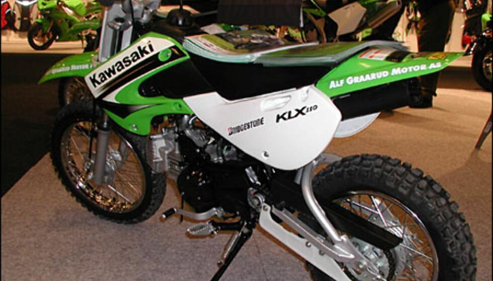 Kawasaki KLX 110, 20.900 kroner