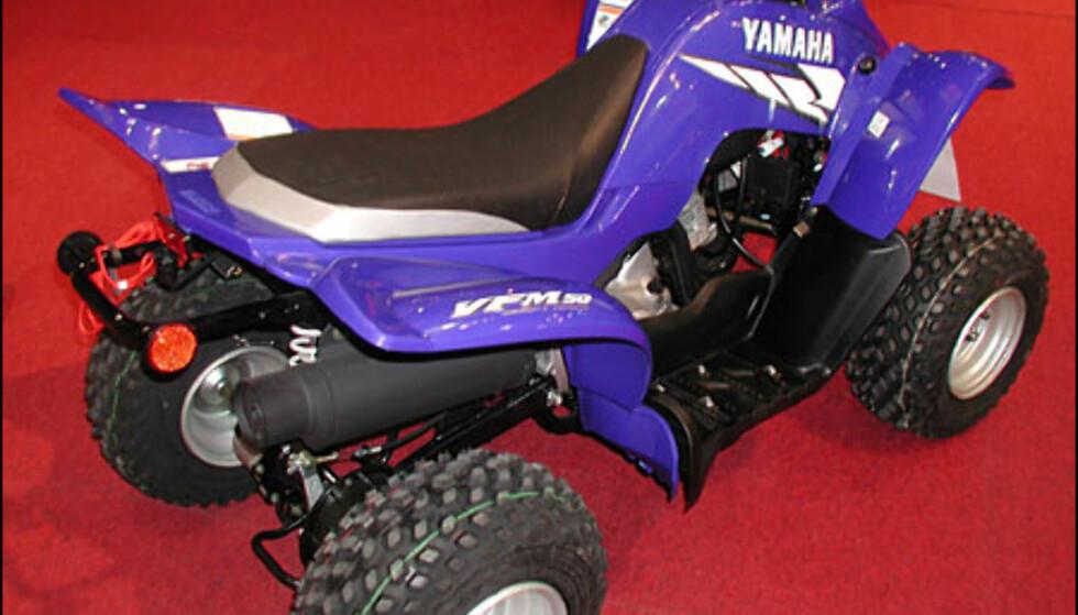 Yamaha YFM 50, 21.500 kroner