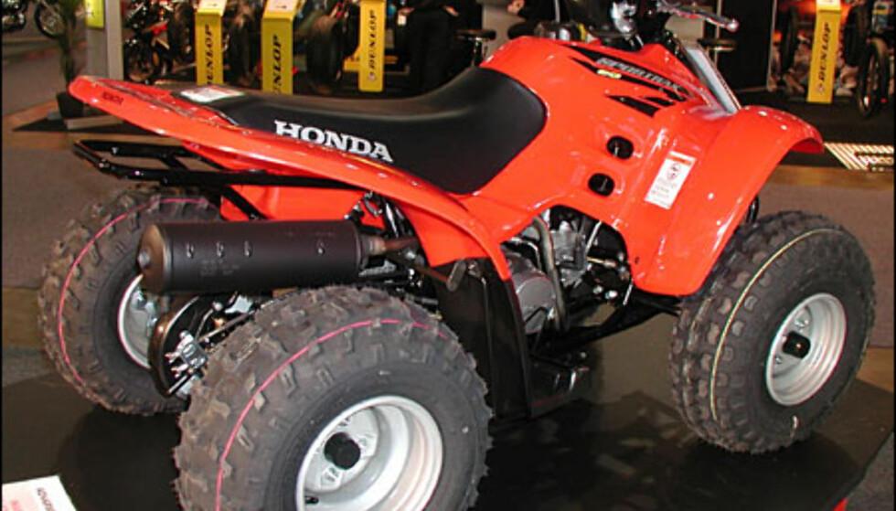 Honda TRX 90, 25.900 kroner