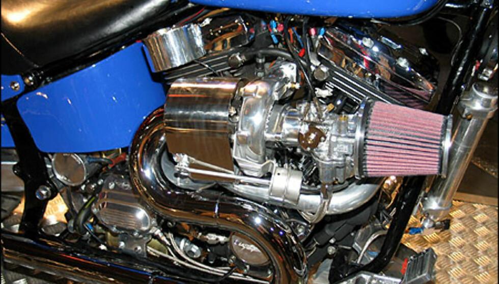 Harley Davidson Turbo - en kuriositet.