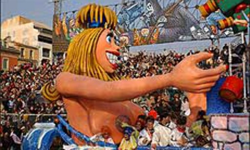 Fargerikt, stort og humoristisk i Nice. Foto: A. Hanel/Carneval de Nice