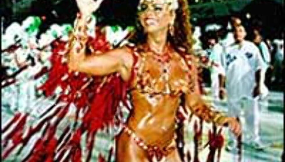 Spreke damer med minimale kostymer er utvilsomt noe av dragkraften for karnevalet i Rio.