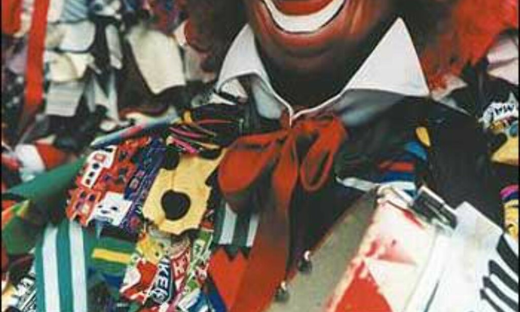 """""""Plutman"""" - klovnen i kostyme lagt av filler - er en av de mest populære figurene under karnevalet i Köln. Foto: Inge Decker/KölnTourismus Office  Foto: Inge Decker/KölnTourismus Office"""