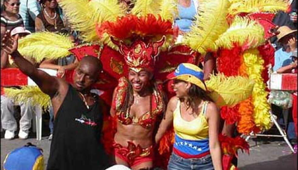 Fra den store paraden på Aruba. Foto: enjoyaruba.com Foto: Enjoyaruba.com