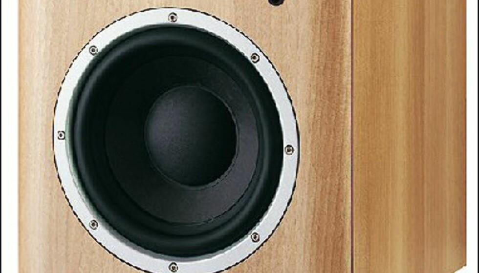 Hi-Fi Klubben   B&W ASW600 Subwoofer 4998  10 tommer - 150 watts forsterker