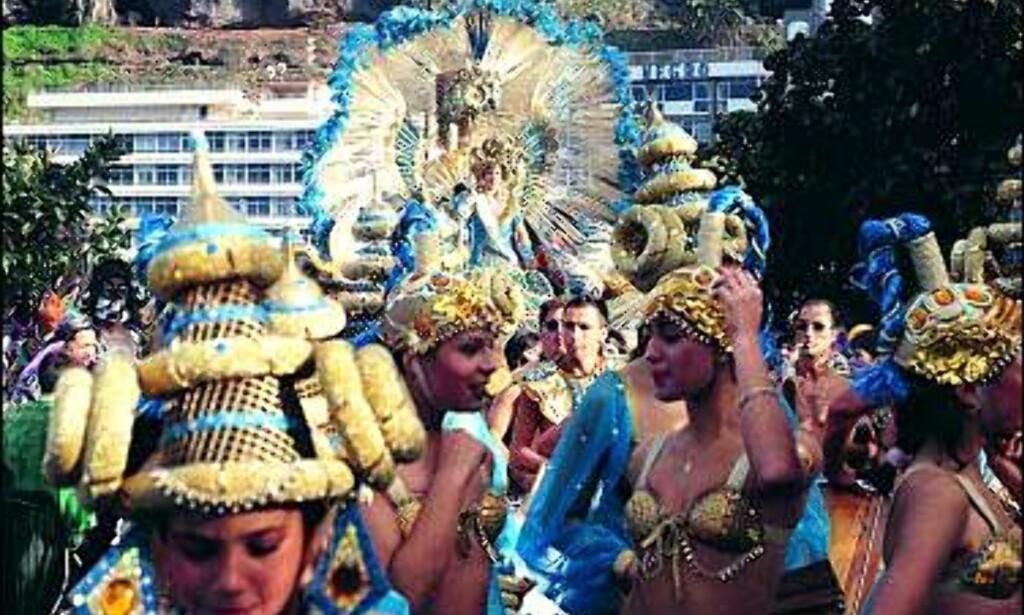 Vakre omgivelser for et karneval i Puerto de la Cruz på Tenerife. Foto: www.puertodelacruz.org Foto: www.puertodelacruz.org