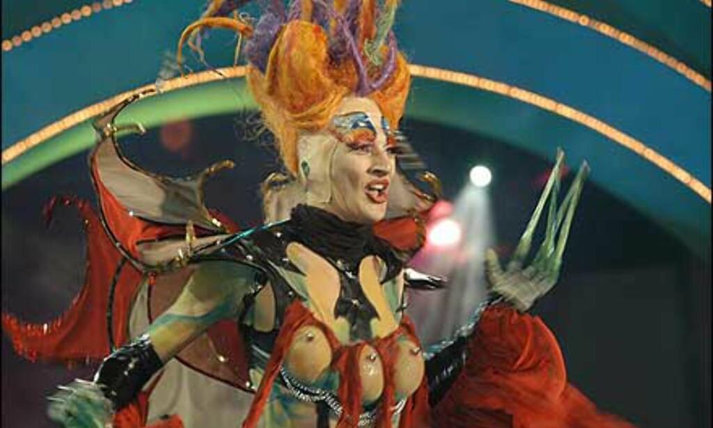 Dragshowet under karnevalet i Las Palmas har blitt utrolig populært.  Foto: www.laspalmascarnaval.com Foto: www.laspalmascarnaval.com