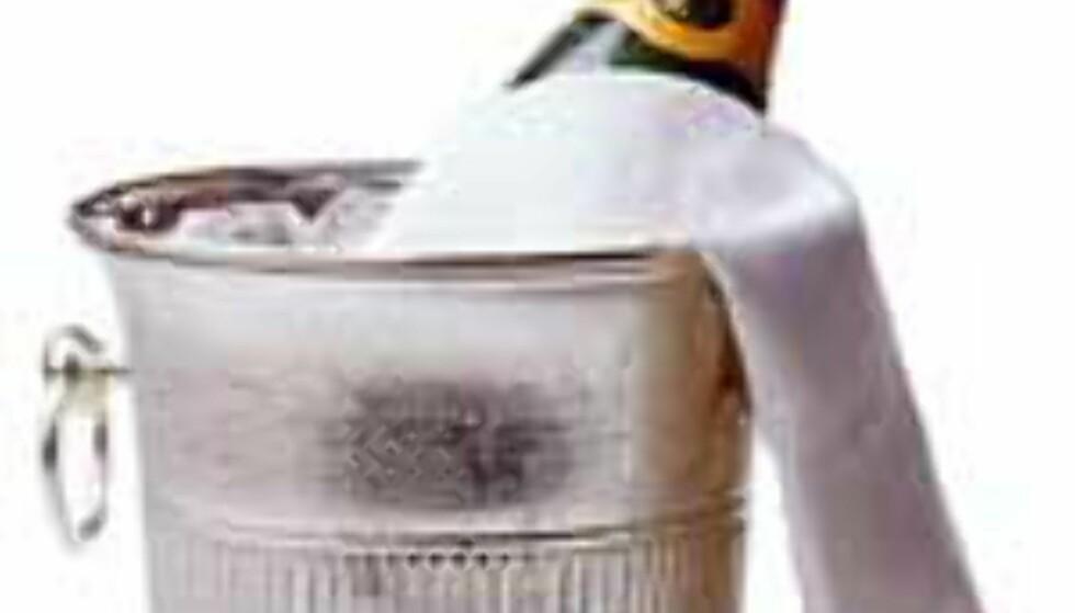 Champagne - godt både innvortes og utvortes.