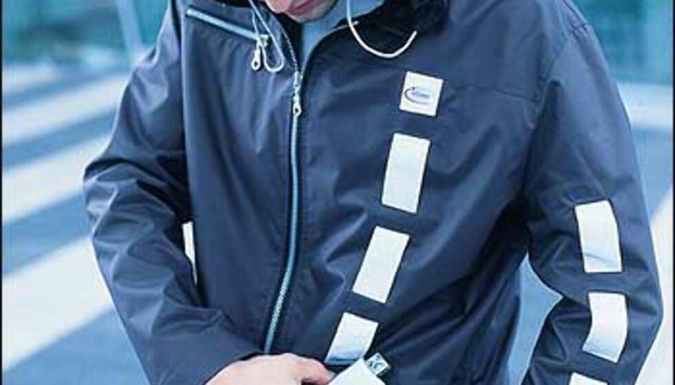 Den nye jakken fra O'Neill kommer i butikken fra høsten av. Foto: Infineon Foto: O'Neill