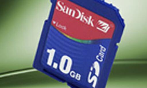 image: Sandisk med 1 GB SD-card