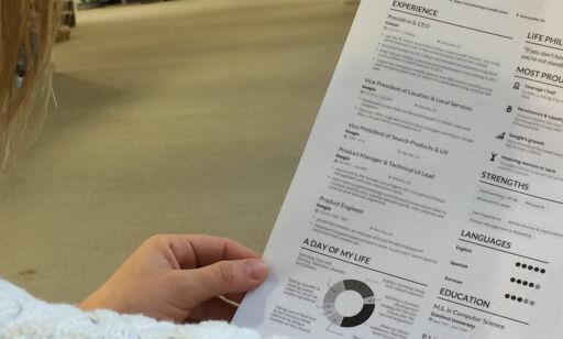 image: Denne CV-en mangedobler sjansen for at hun får jobb