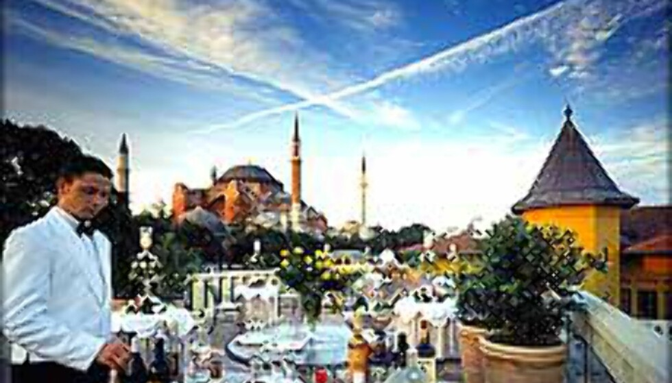 Four Seasons i Istanbul, Europas beste hotell, mener amerikanske turister.  Foto: Four Seasons  Foto: Four Seasons