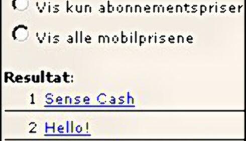 Norges billigste kontantkort