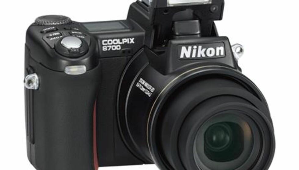 Nikon klar med Coolpix 8700