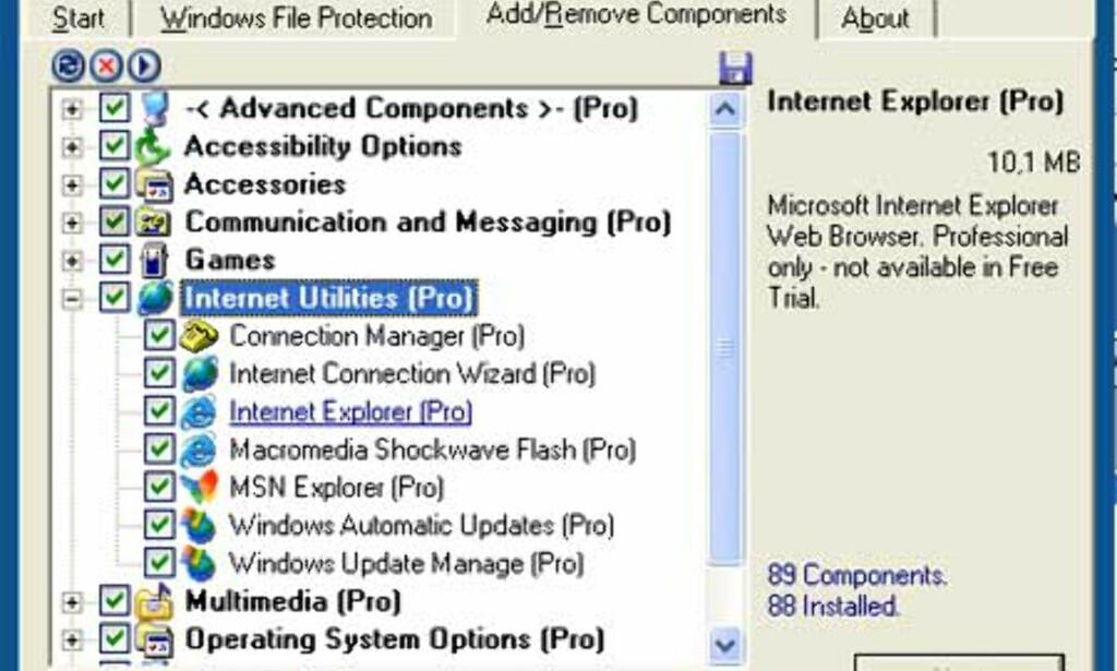 image: XPLite - Slankekur for Windows